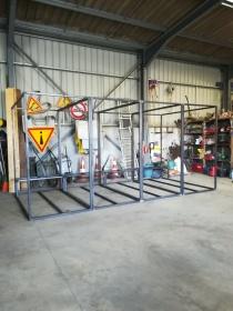 Fabrication des kiosques